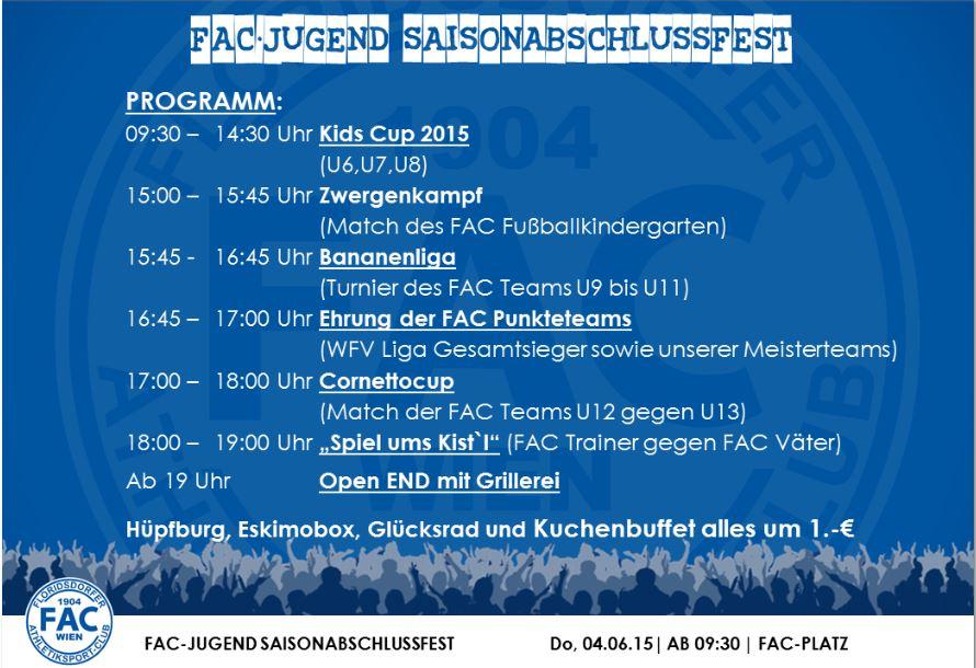 FAC Abschlussfest